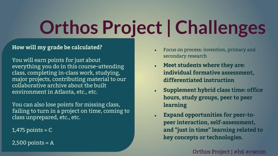 "Title reads: ""Orthos Project